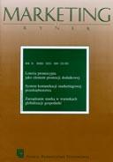 Marketing i Rynek Nr 01 / 2008