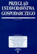 Przegląd Ustawodawstwa Gospodarczego nr 4 / 2013