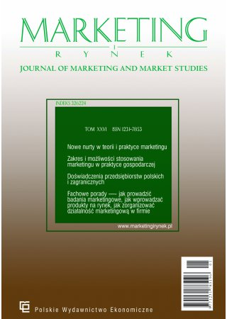 Journal of Marketing and Market Studies