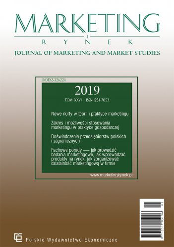 Journal of Marketing and Market Studies 2/2019