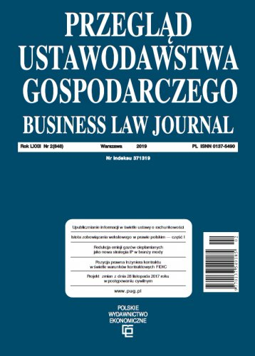 Journal of Business Law 8/2019