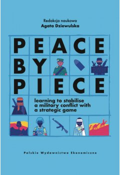 Peace by Piece: learning to stabilise a military conflict with a strategic game